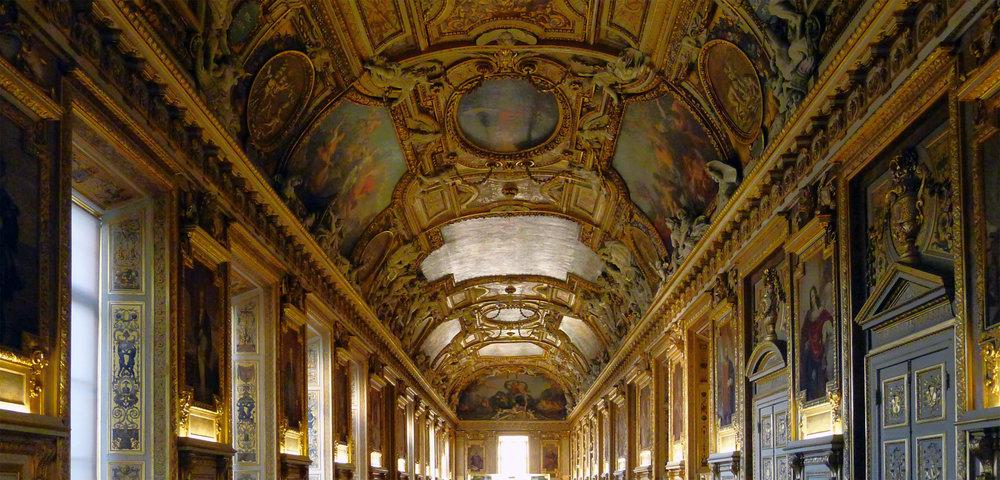 Galerie Apollon, Louvre Museum Paris.