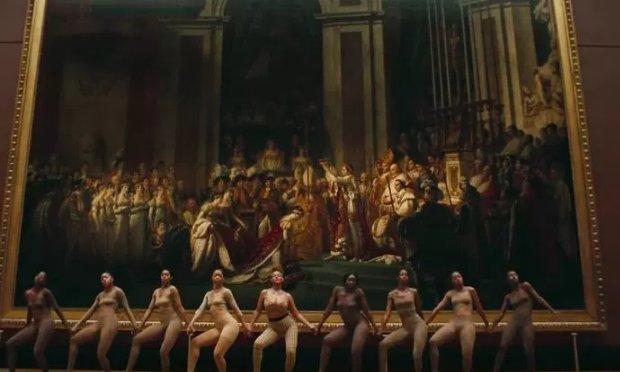 Jacques-Louis  David, The  Coronation of Napoleon 1807