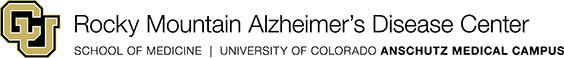 Rocky Mountain Alzheimer's Disease Center logo