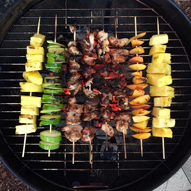 Pack your grill with garden fresh veggies