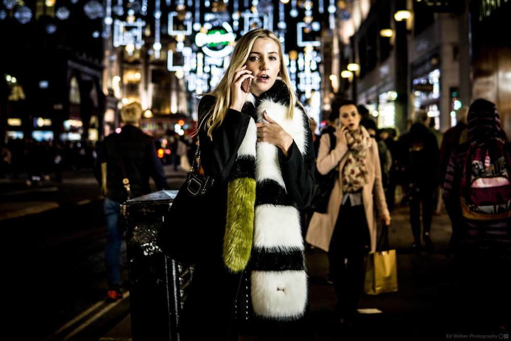 Oxford Circus, Racoon, 2017