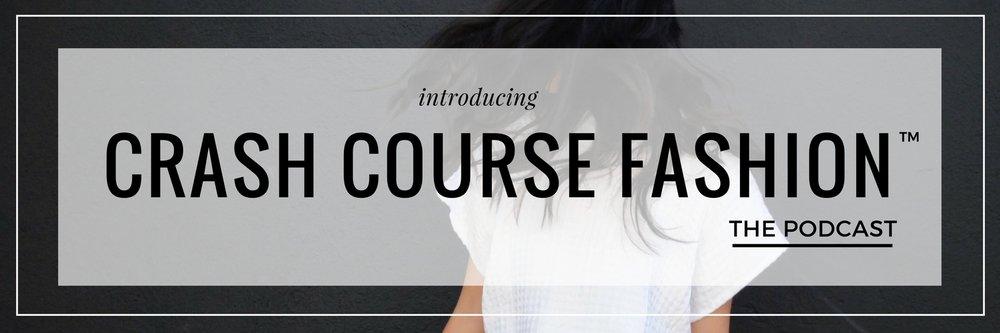crash course fashion™ podcast laptops & smalltalk
