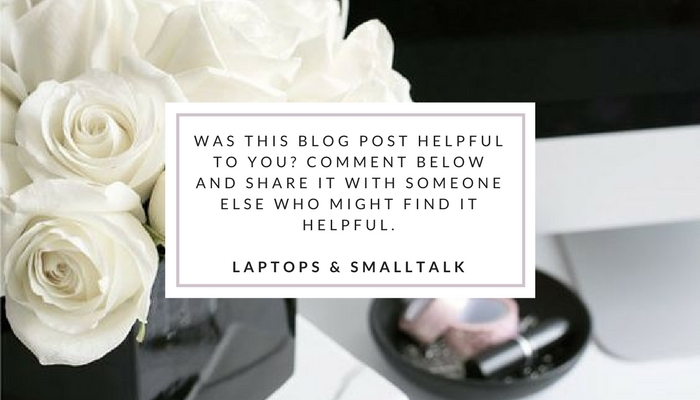 share laptops and smalltalk