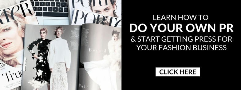 learn how to do your own fashion pr and start getting press laptops and smalltalk