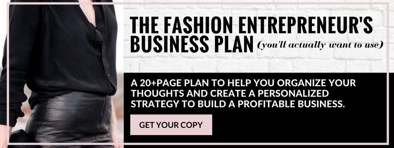 The Fashion Entrepruner's Business Plan You'll Actually Want to Use - Laptops & Smalltalk promo .jpg