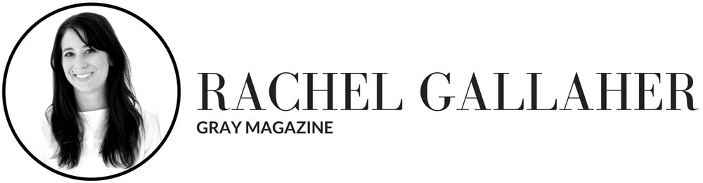 Gray Magazine's senior editor Rachel Gallaher shares tips on how fashion designers can pitch the media - laptops and smalltalk .jpg