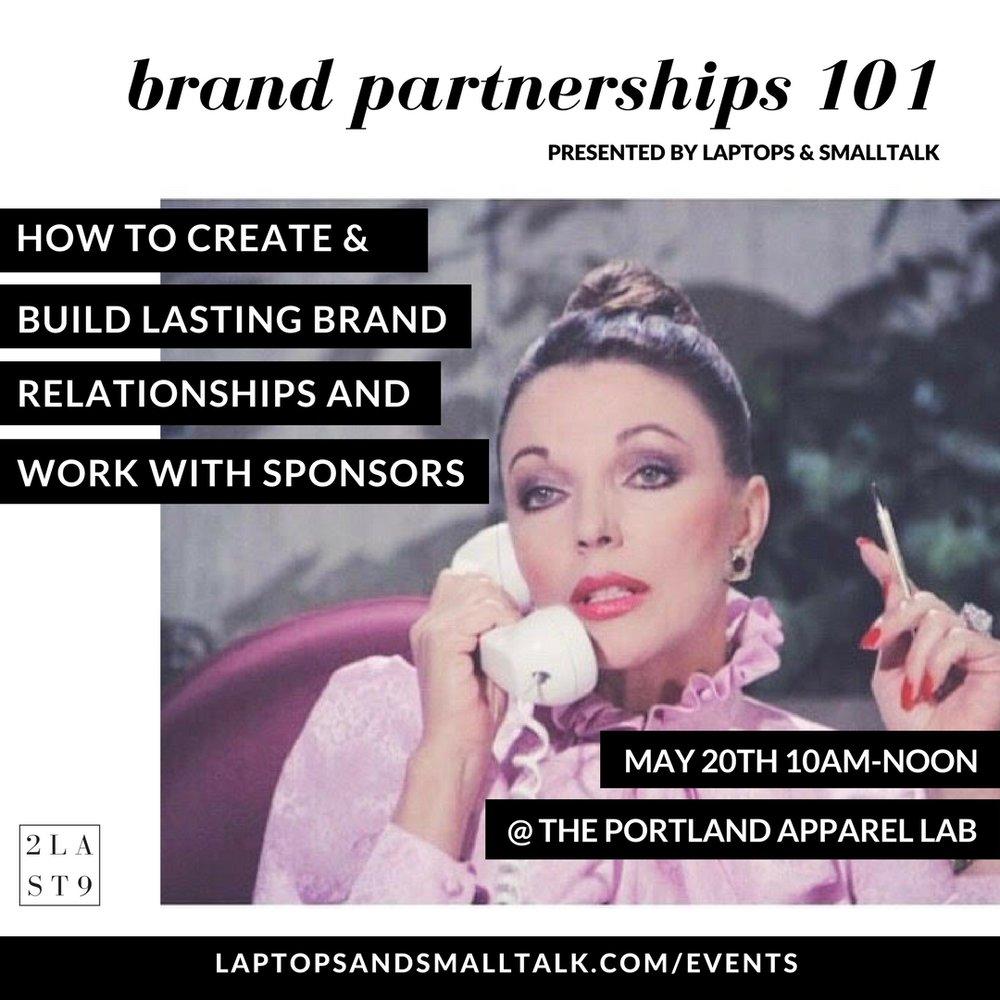laptops and smalltalk brand partnerships fashion workshop at portland apparel lab.jpg