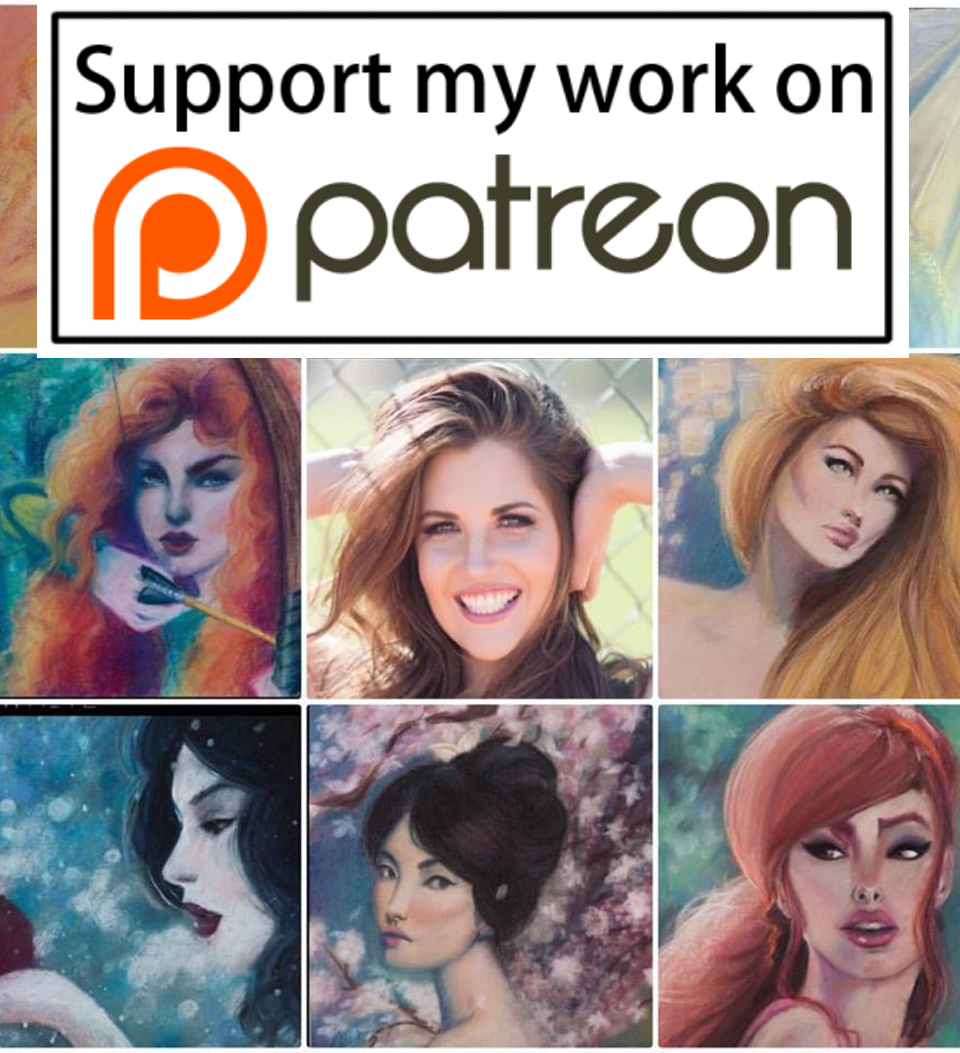 I have had a Patreon site for almost 1 year now. I lightly promoted it on flyers, spent countless hours studying how to successfully launch and maintain a Patreon community & reached out to fellow artists about their experiences/opinions of it. I even went as far as to broadcast the making of the Patreon video LIVE on Periscope.  Yet still…I have not launched my Patreon.   Why? And WTF is Patreon?