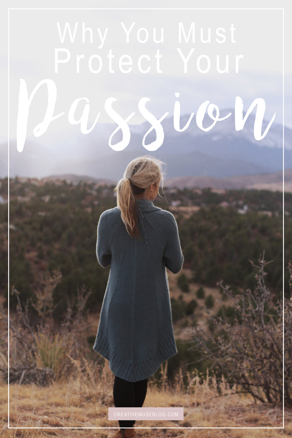 I don't know if you're anything like me, but there are those days when I feel incredible pumped up about what God is doing in my life and the calling He has for me and then there are those days when I can't seem to get excited about anything. Can you relate?  I would consider myself a pretty passionate person; someone who thrives on creating and moving forward into my future. But why is it that these not-so-passionate-days can come and really make a dent in my ability, and my desire, to keep