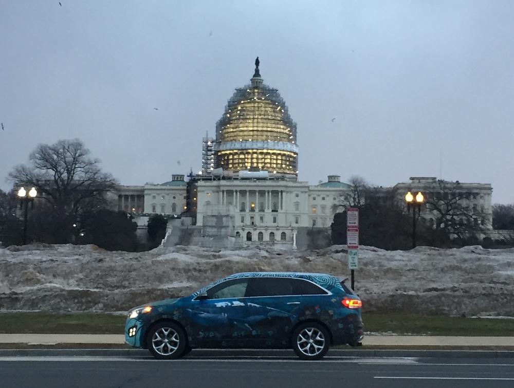 Kia Sorento ArtCar - US Capitol