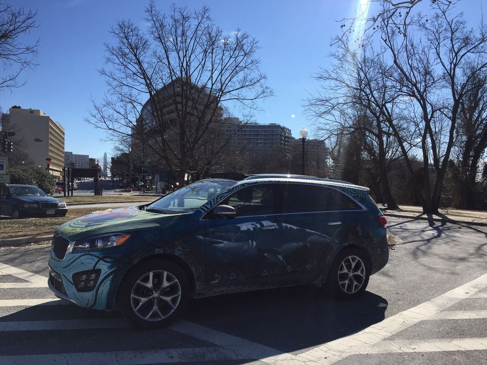 Kia Sorento Art Car - Watergate Complex