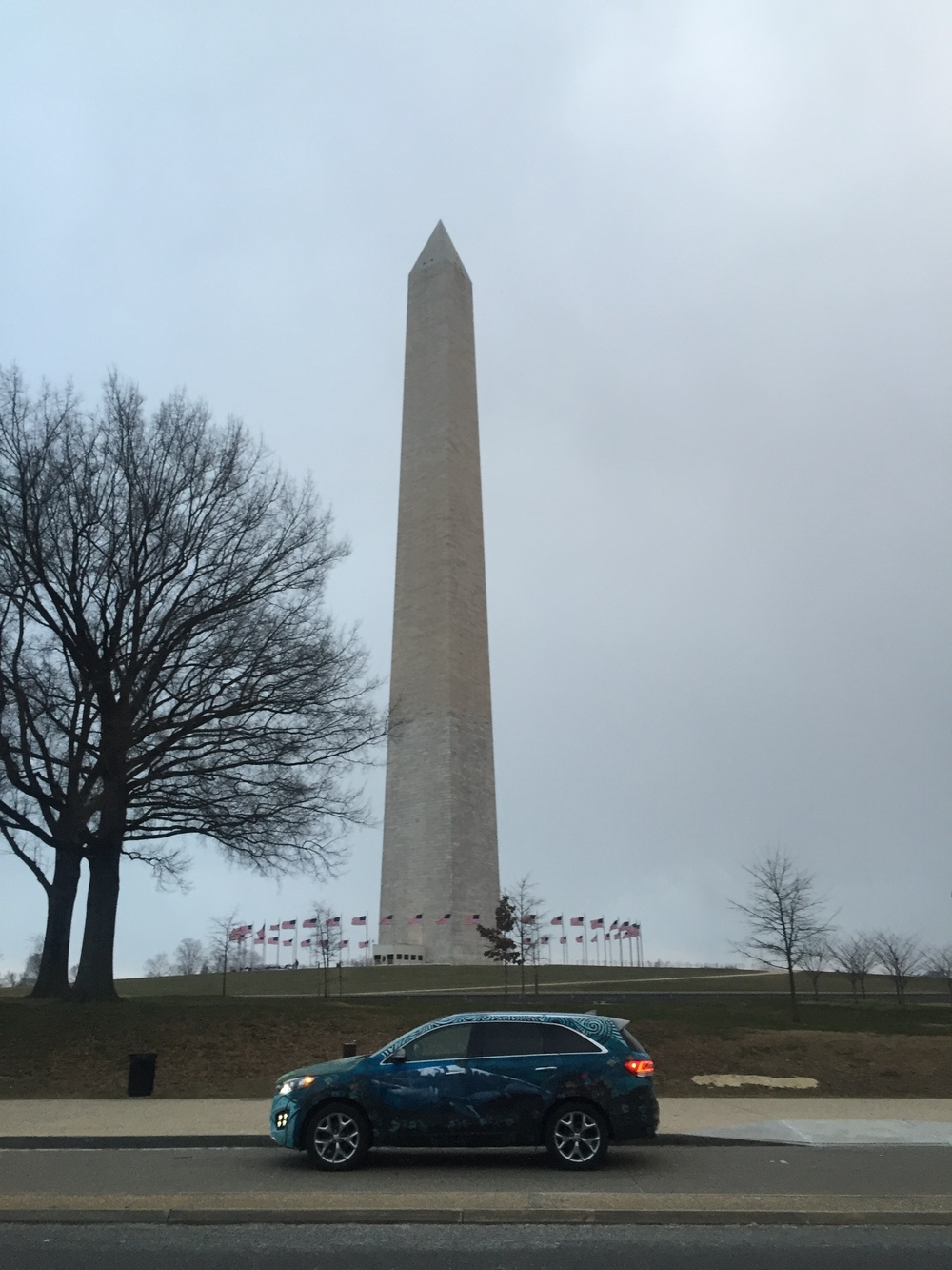 Kia Sorento Art Car - Washington Monument