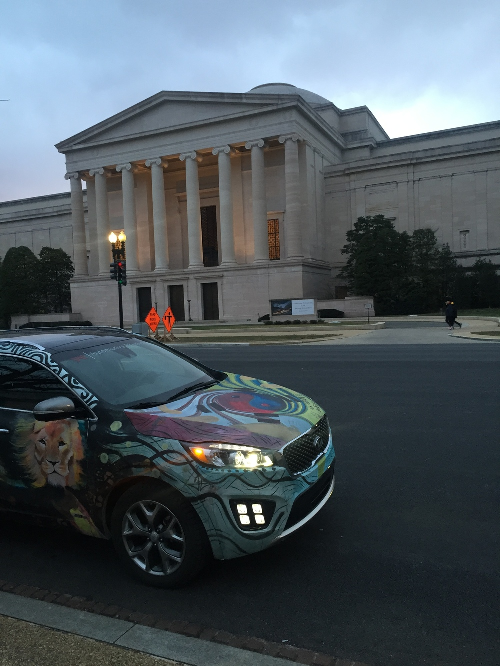 Kia Sorento Art Car - National Archives