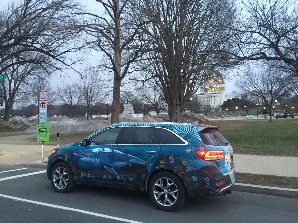 Kia Sorento Art Car - US Capitol