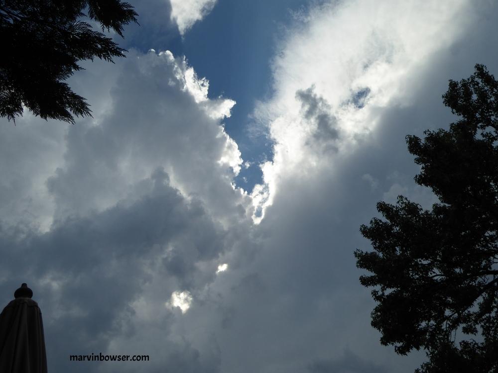 ...a summer storm approaching