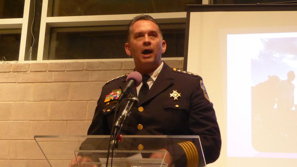 Interim Police Chief Peter Newsham, MPD