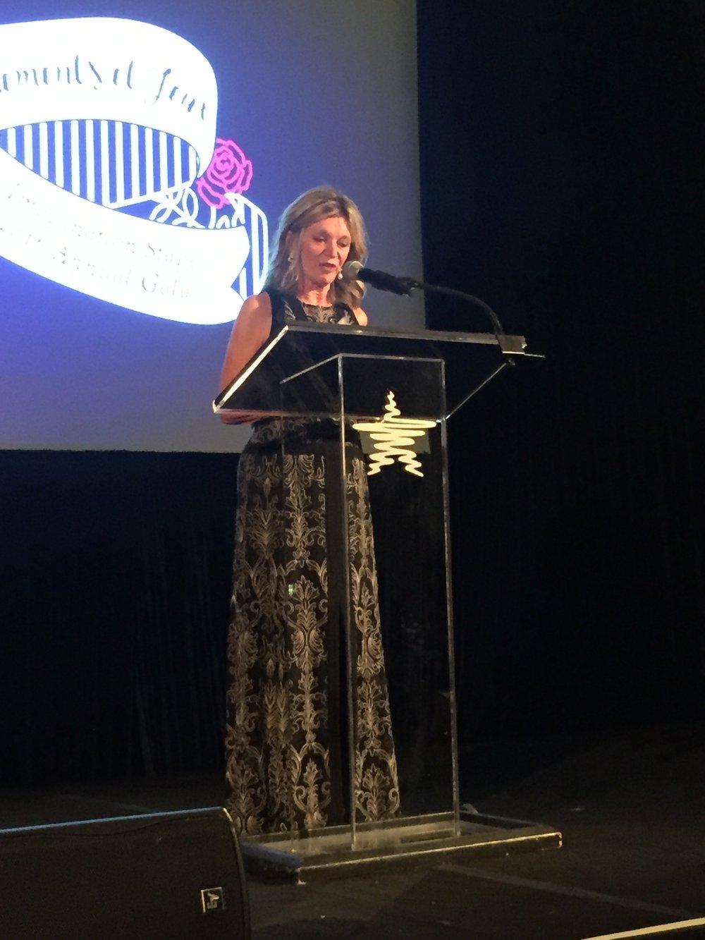 Kay Kendall introducing Septime Webre