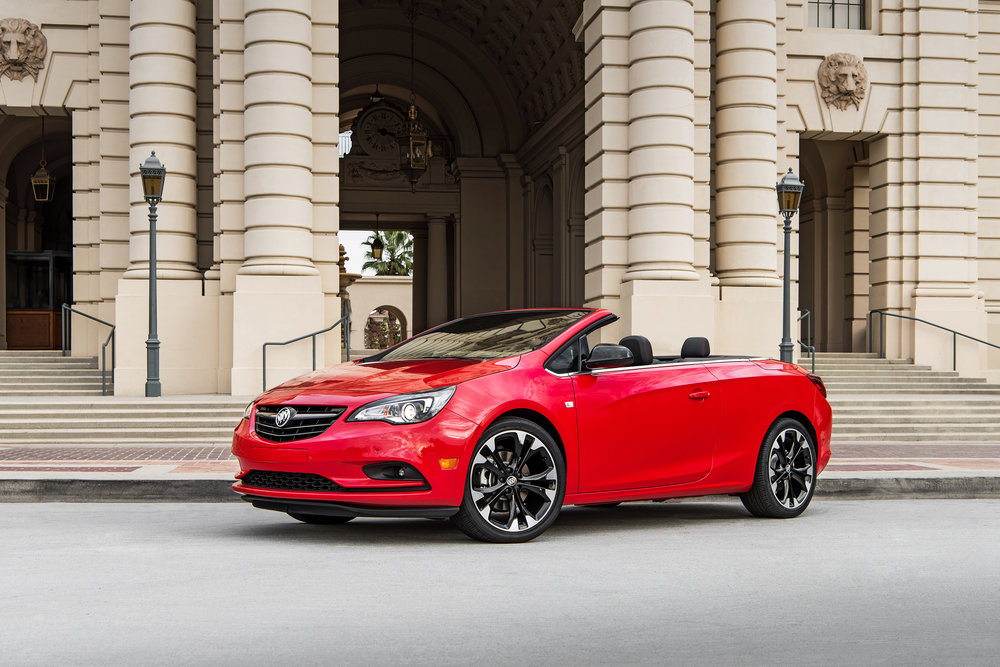 2017 Buick Cascada ST Convertible Sportred