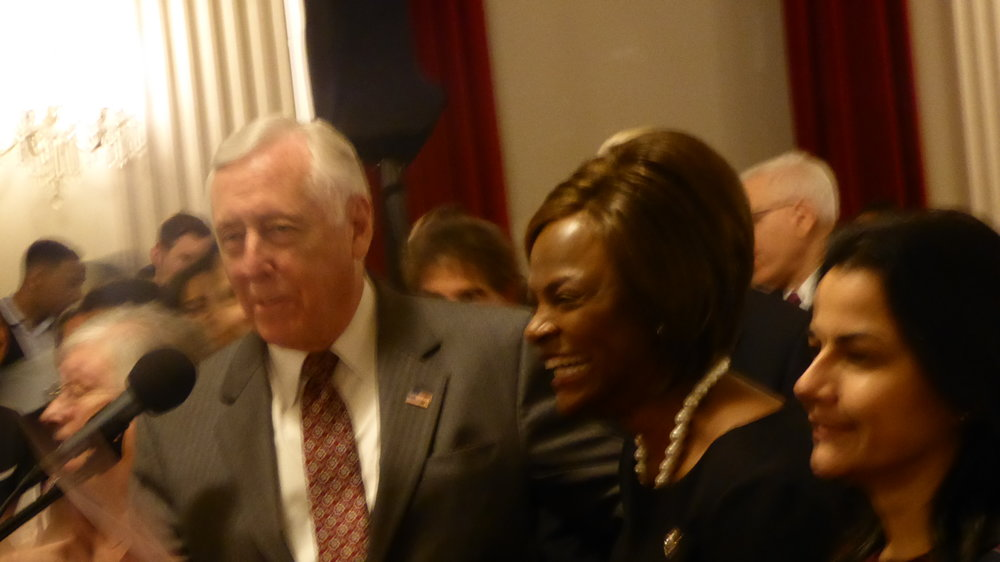 Steny Hoyer and Rep Val Demings (D) Florida