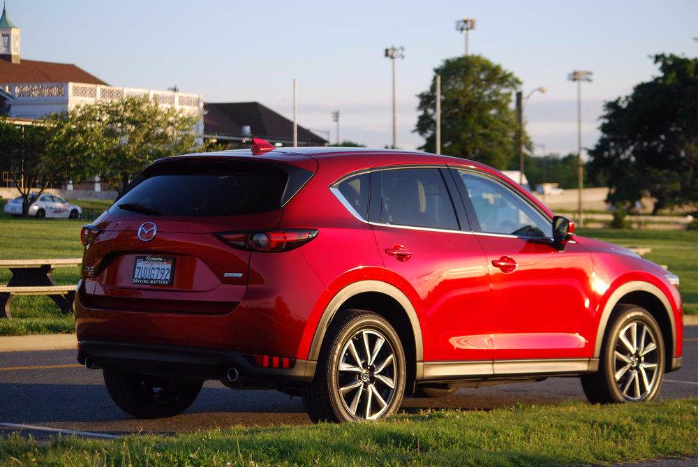 2017 Mazda CX-5 Grand Touring AWD Soul Red Crystal Metallic- Image by Marvin Bowser