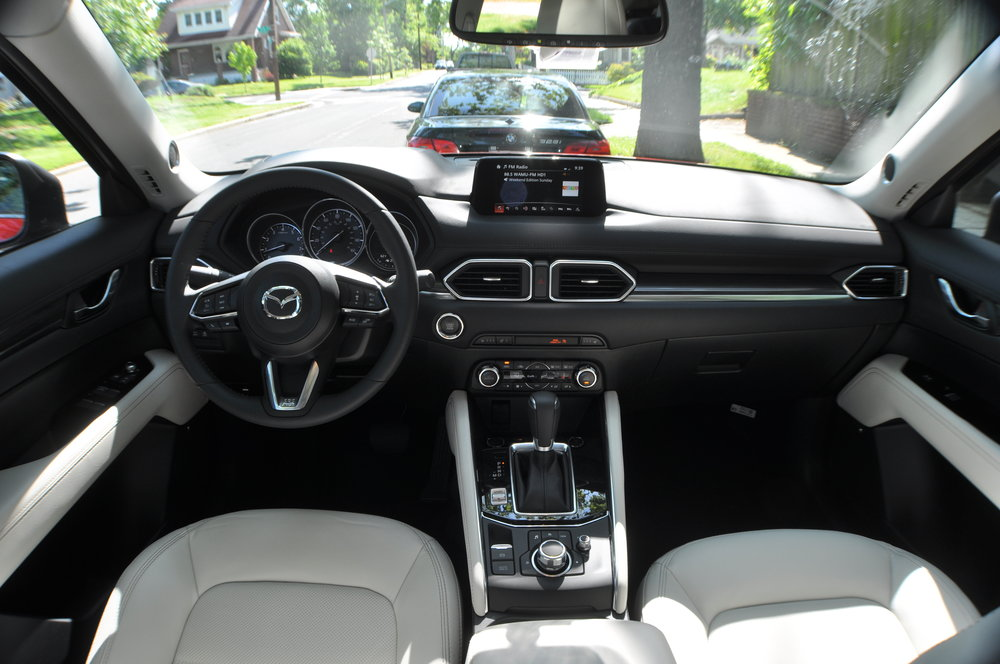 2017 CX5 Grand Touring Interior  - Image by Marvin Bowser