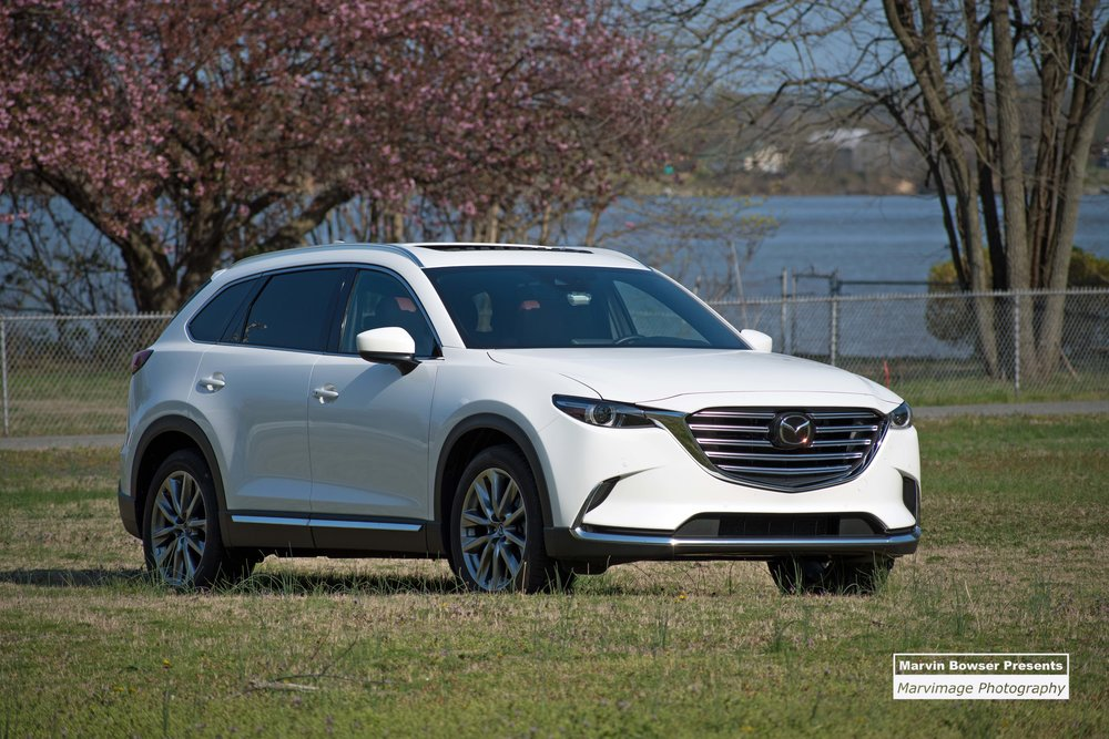 2018 CX-9 Signature AWD in Snowflake White Pearl Mica