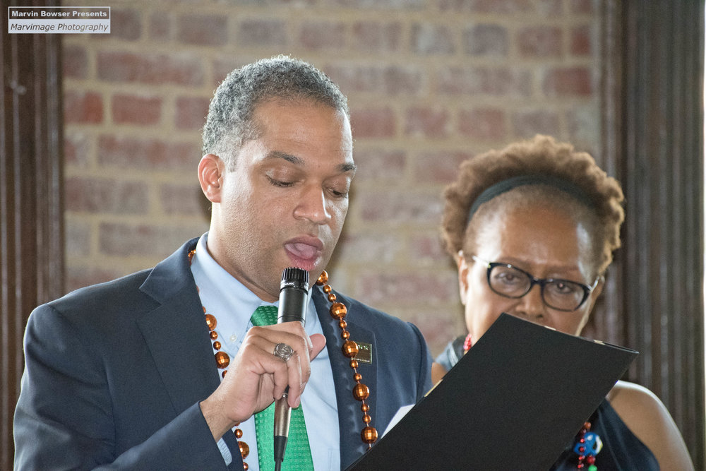 Councilmember Brandon Todd presents Council Proclaimation