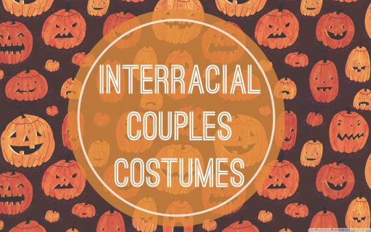 Interracial Couples Costumes
