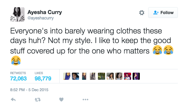 I Dress Like A Thot But I'm Pro Ayesha Curry
