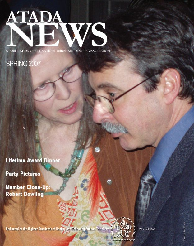 Cover: Past Presidents Ramona Morris and Robert Bauver