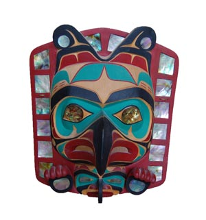 Tony Hunt, Jr., Kwagiult Thunderbird Frontlet, 1988