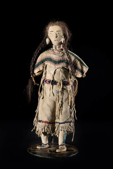 Nez Perce Doll, anonymous artist, late 19th Century