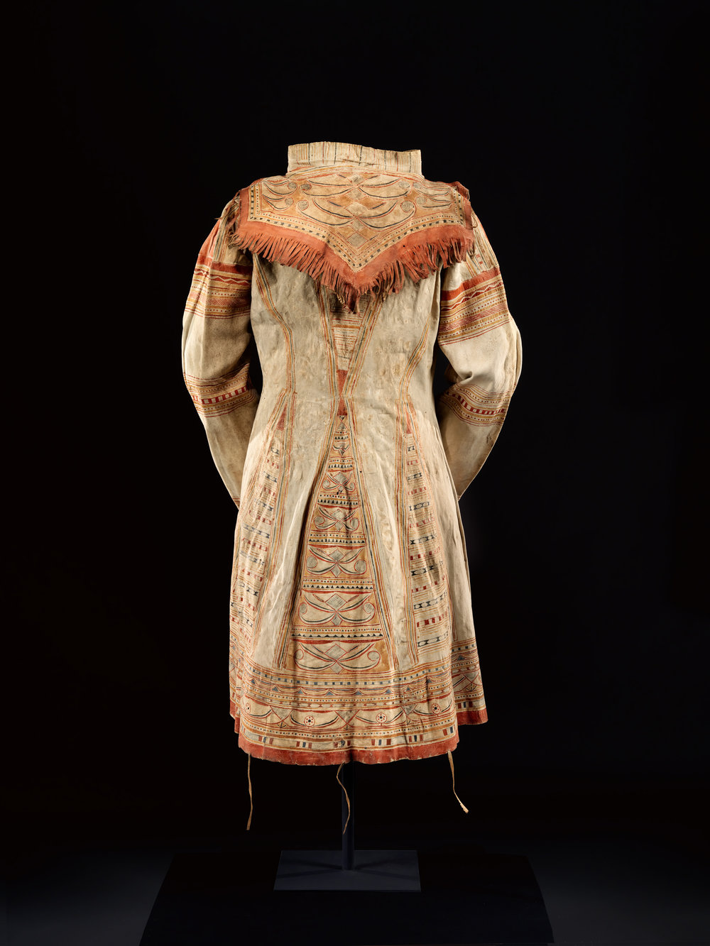 Man's Coat c.1840 (Naskapi)   The Charles and Valerie Diker Collection of Native American Art, Gift of Valerie-Charles Diker Fund, 2017