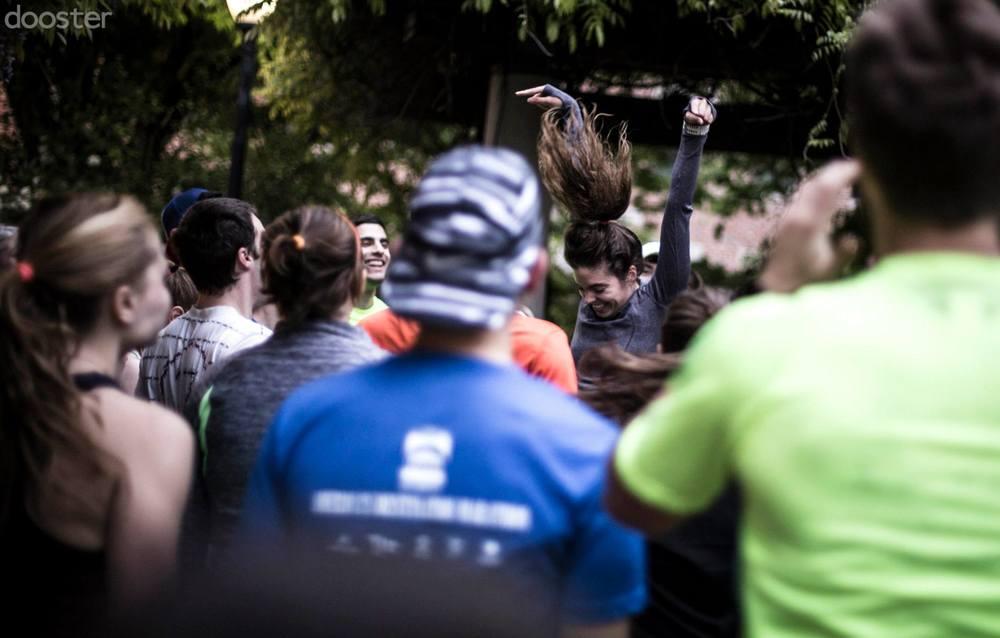 Photo via Kaelan Dickinson, November Project Co-Leader: Washington, D.C