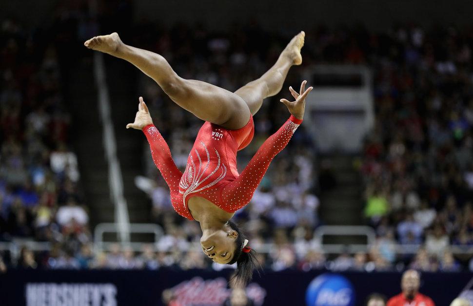 Simone Biles, photo by Ezra Shaw via Getty Images