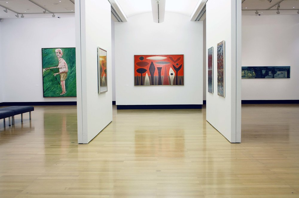 'Large scale works from the Ipswich Art Gallery Collection' Aug . - Sep. 2012