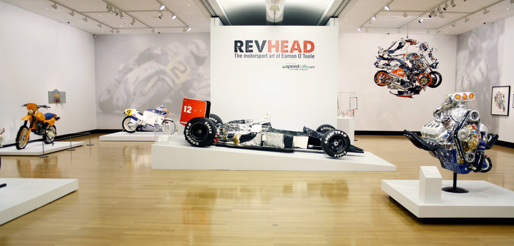 'Revhead: The motorsport art of Eamon O'Toole' Feb. - May 2012