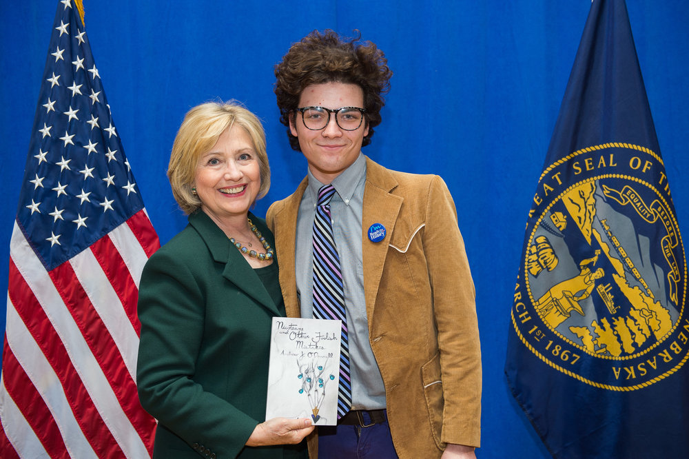 Hillary Clinton Reads Nicoteane and Other Foolish Mistakes