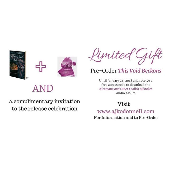 💜💜 visit www.ajkodonnell.com for all the information ☕️☕️ #loveajko #queerauthor #poet #january2018