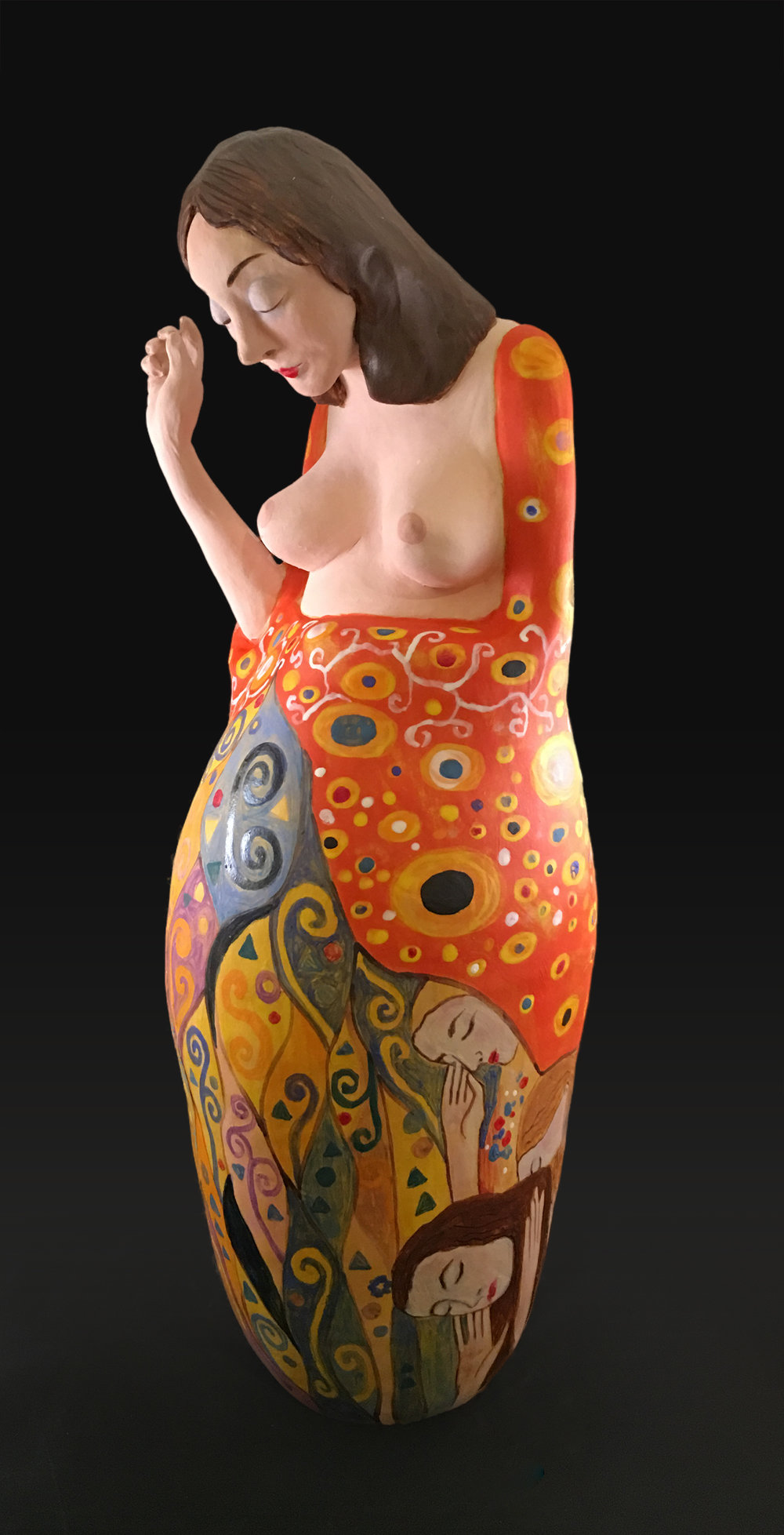 Sculpture 2 (based on Hope II (Klimt))