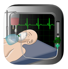 Resuscitation! - A series of interactive clinical vignettes where you must chose the correct workup, management, and disposition for an evolving patient presentation.iOS | Android