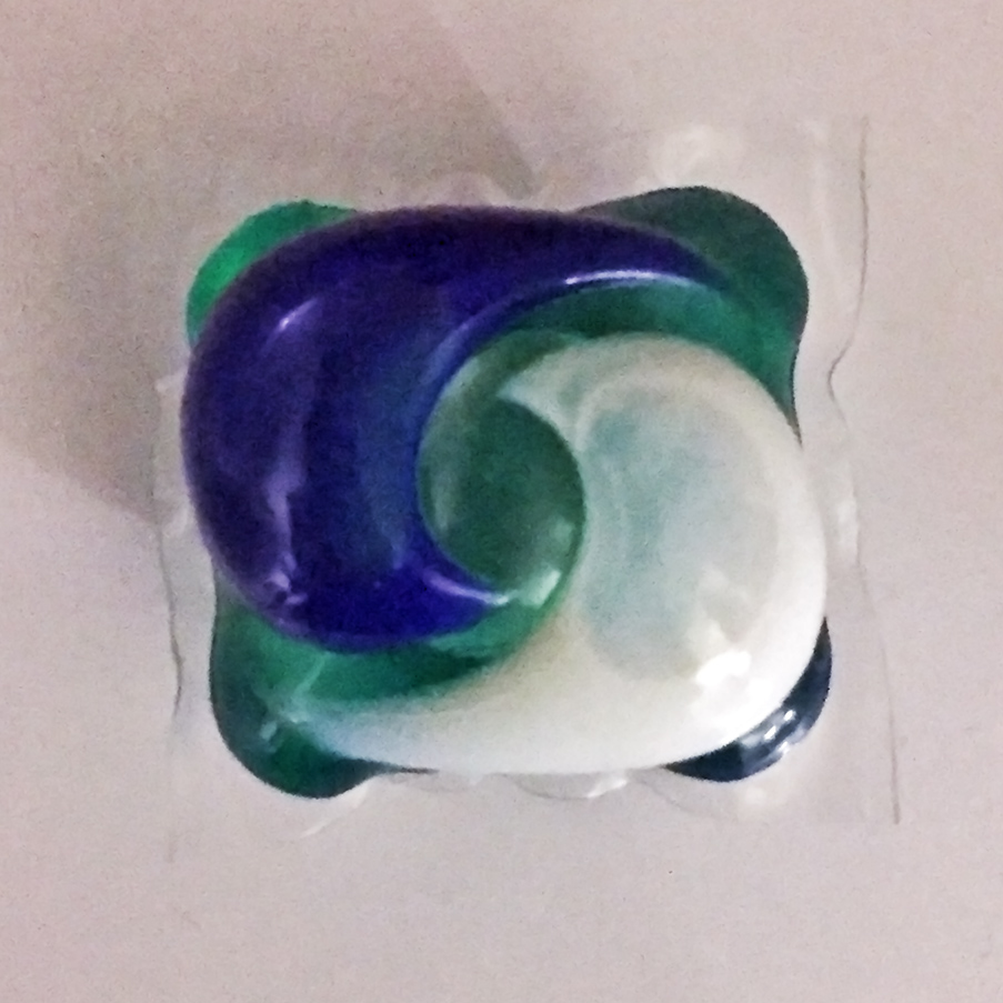 Figure 1: :Laundry Detergent Pod  By  Soulbust  - Own work, CC BY-SA 4.0,