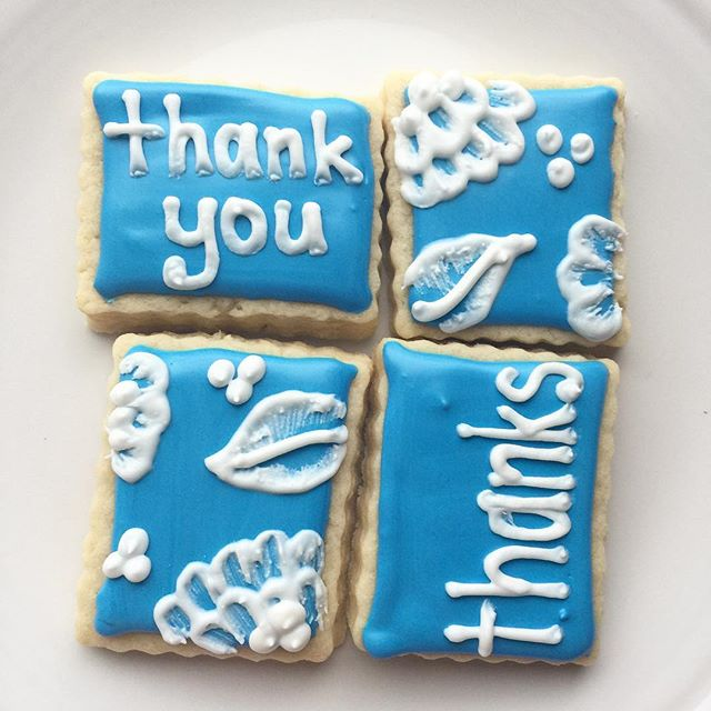 Nothing says appreciation like cookies