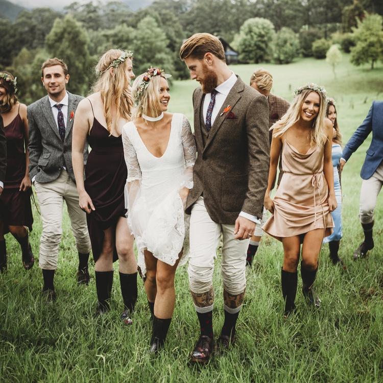ellen + elliot - Rustic Southern Highlands Wedding