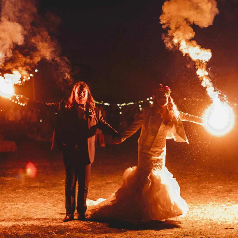 beck + lach - Explosive Property Wedding