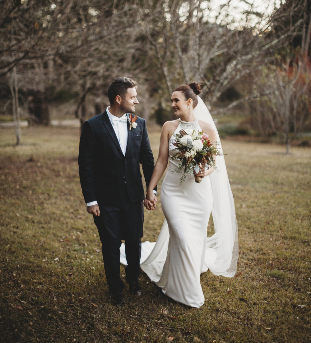 Shannon + Neill - A Cosy Winter Wedding