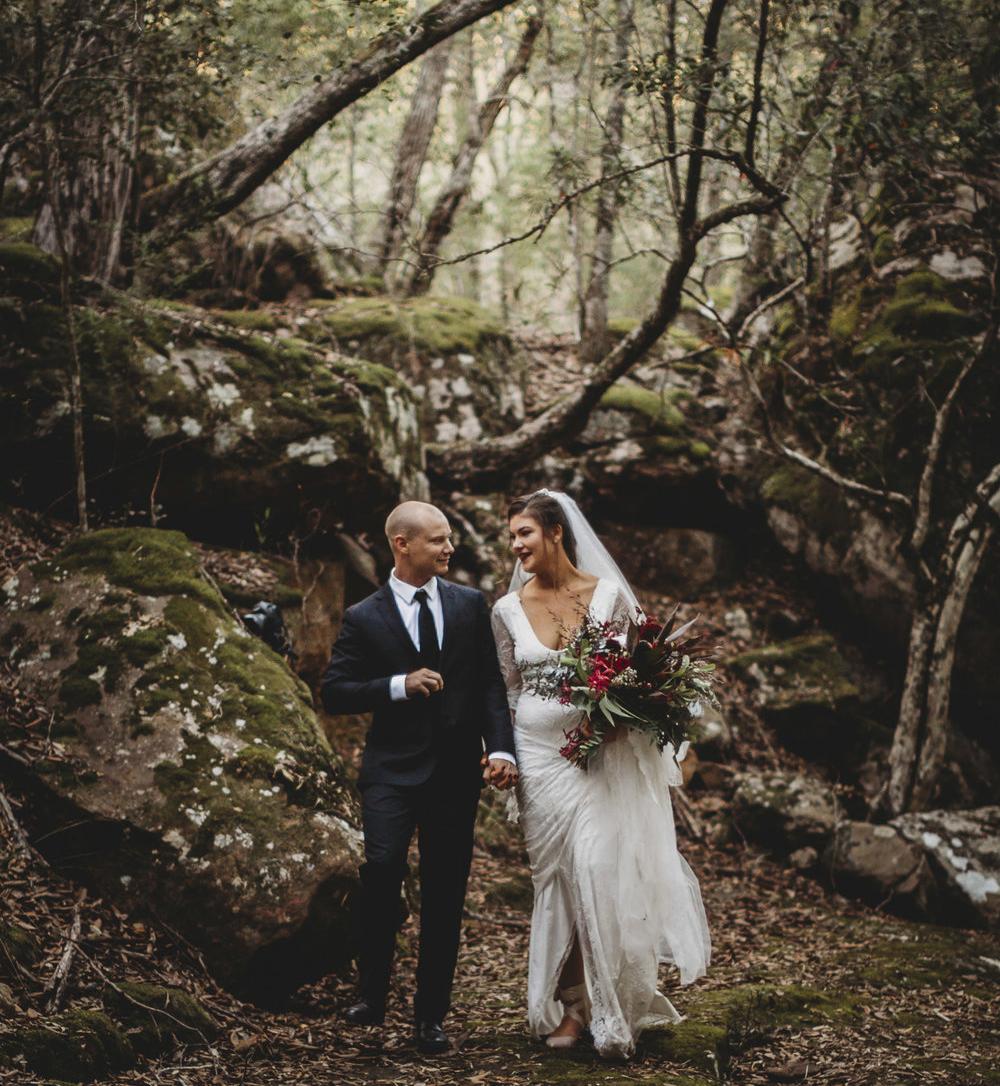 megan + jordan - A Bush valley Wedding