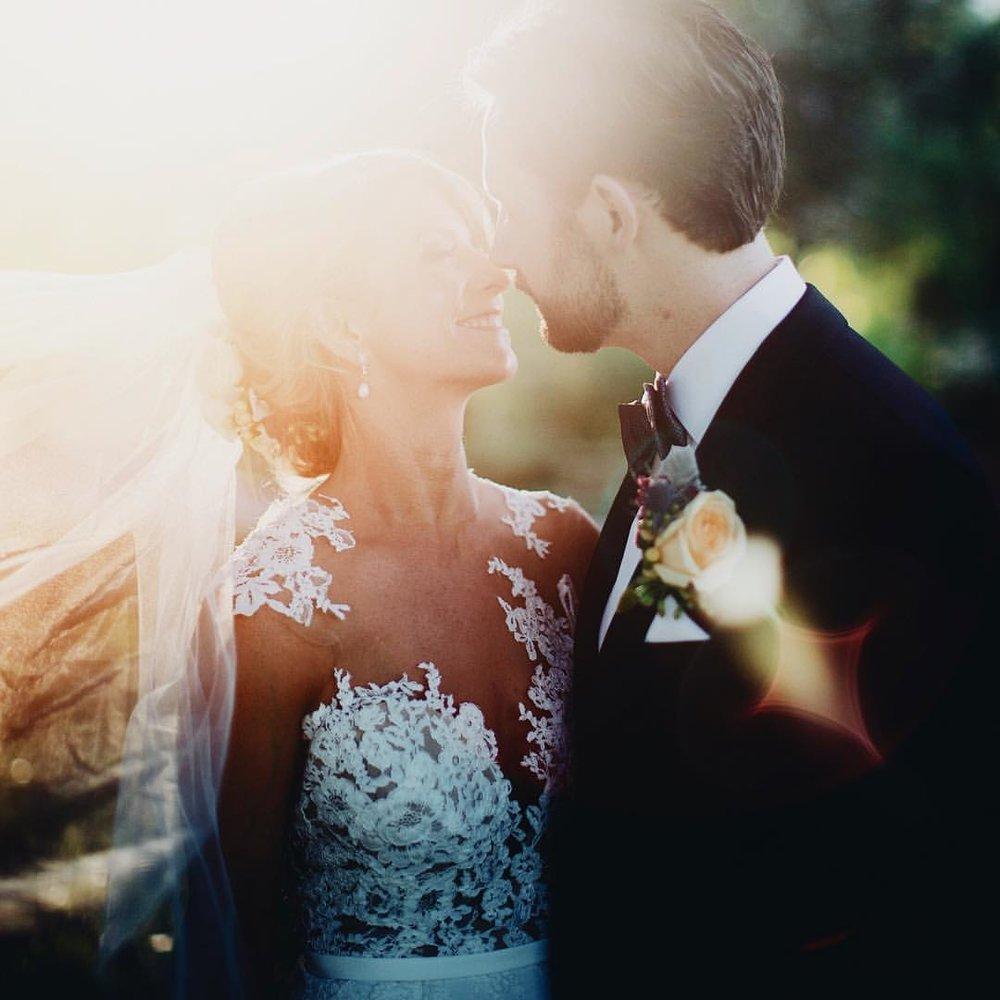 Katya + John - Sunsoaked Garden Wedding