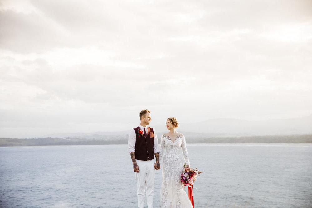 stef + matt - Colourful Wedding