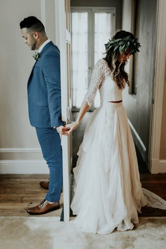 first looks - and why they might be right for your big day